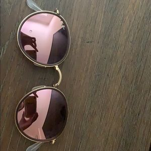 Super neat pink bendable ray bans